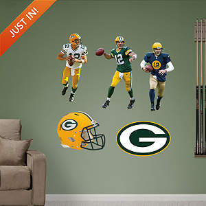 Aaron Rodgers Hero Pack Fathead Wall Decal